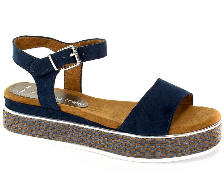 Sandały Marco Tozzi 2-28740-32 805 Navy