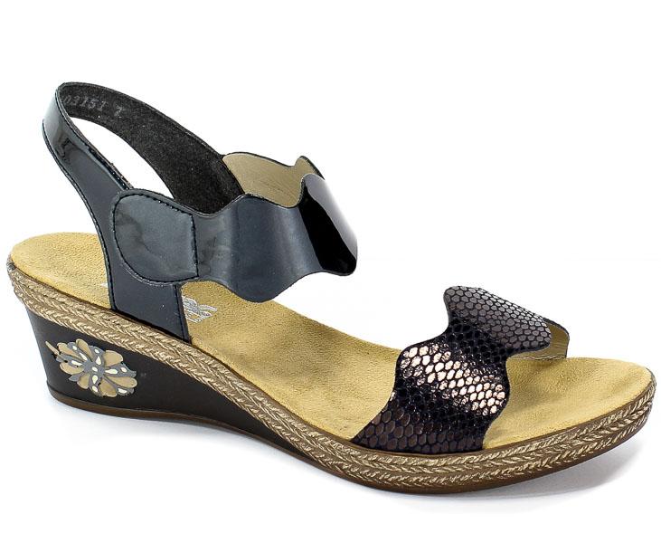 Sandały Rieker V2402-14 Blue