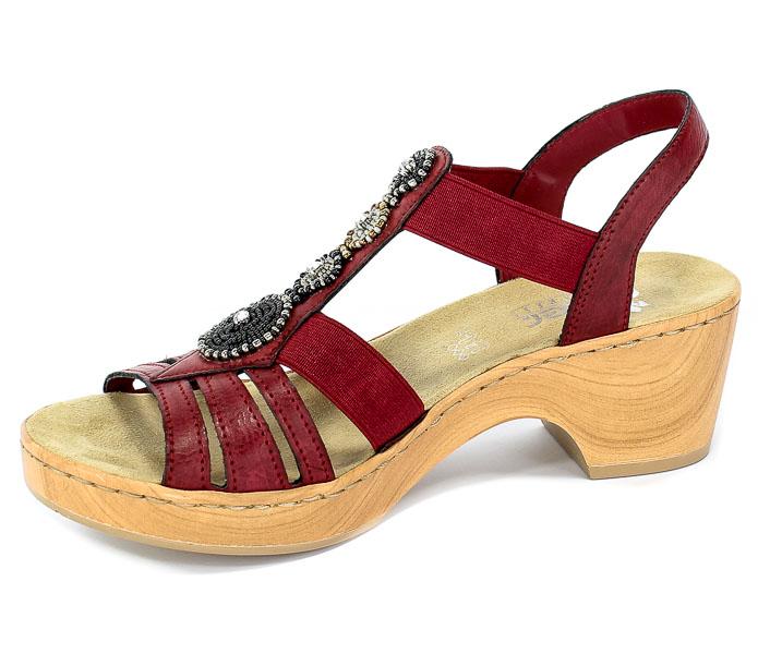 Sandały Rieker V28S8-35 Red