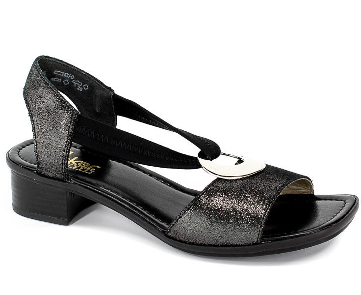 Sandały Rieker 62662-03 Black