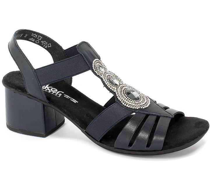 Sandały Rieker 64660-15 Blue