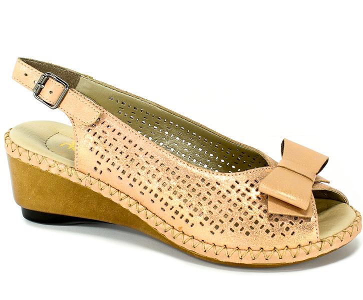 Sandały Rieker 66167-31 Rosa