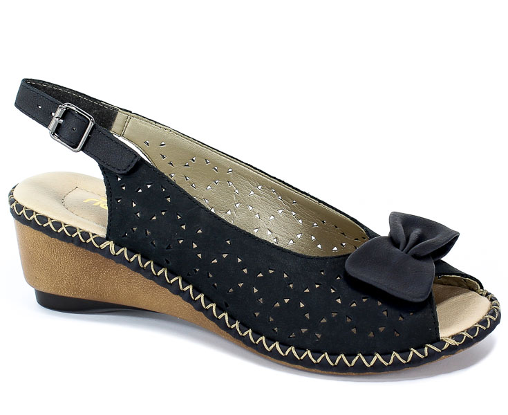 Sandały Rieker 66178-14 Blue
