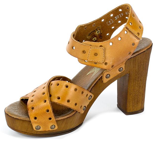 Sandały damskie Lemar 40178 brąz