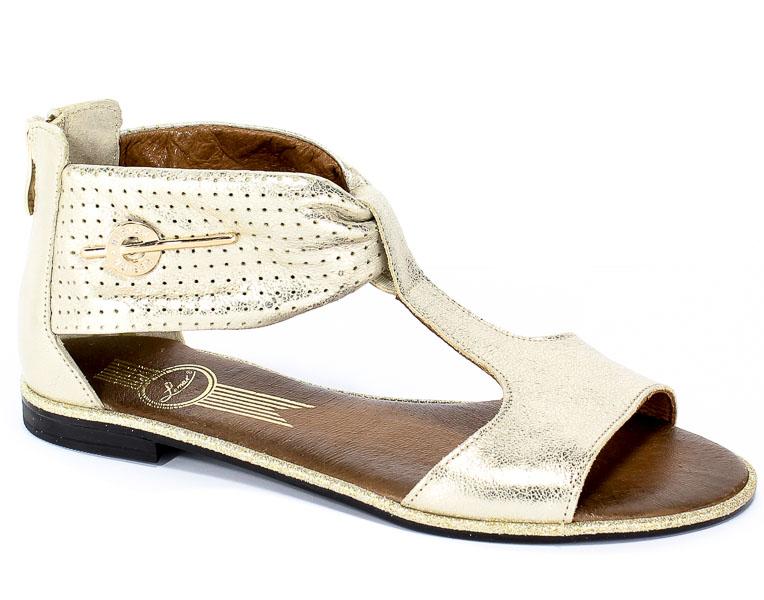 Sandały Lemar 40058 Przec.Kryszt.Złoto