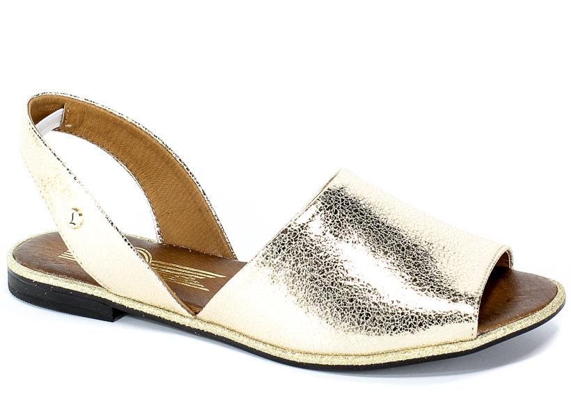 Sandały Lemar 40166 N.Kryszt.Złoto