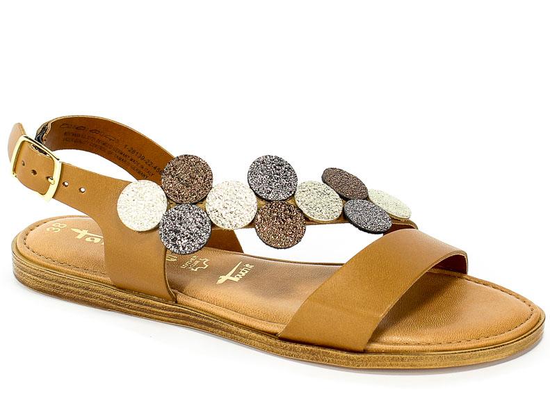 Sandały Tamaris 1-28139-22 456 Cuoio Comb