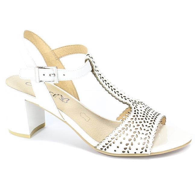 Sandały Caprice 9-28301-22 102 White Nappa