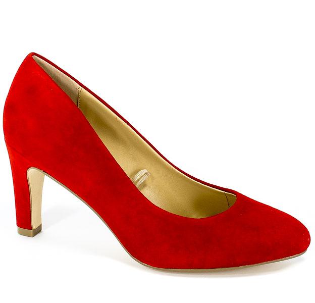 Czółenka Caprice 9-22400-22 524 Red Suede