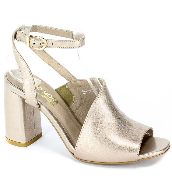 Sandały Euro Moda 19 2973/074-P Złoty