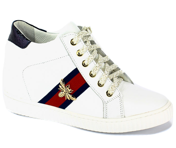 Sneakersy R.Polański 0959 Biały-Lico