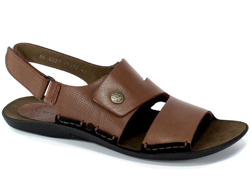 Sandały Nik 06-0227-01-7-02-02 Brązowy