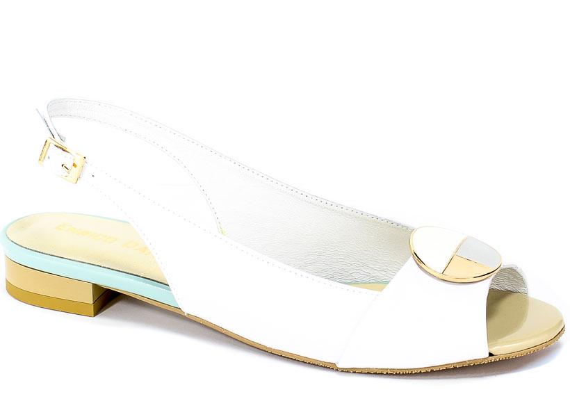 Sandały Enrico Daniele G003-201+201-SN Lico Białe+Lico Białe