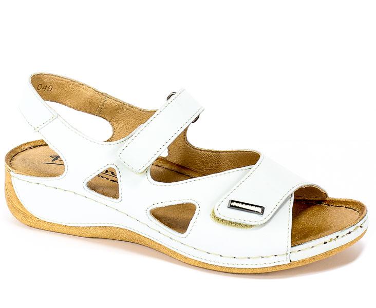 Sandały Pollonus 5-0994-049 Avorio