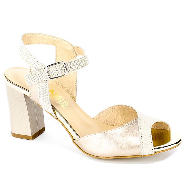 Sandały Gamis 3389 P70+P130 Gold