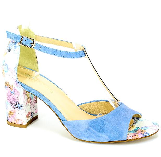Sandały Uncome 24120 Mix Azzurro