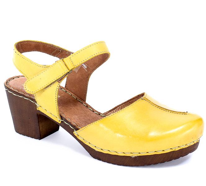 Sandały Manitu 910857 Gelb