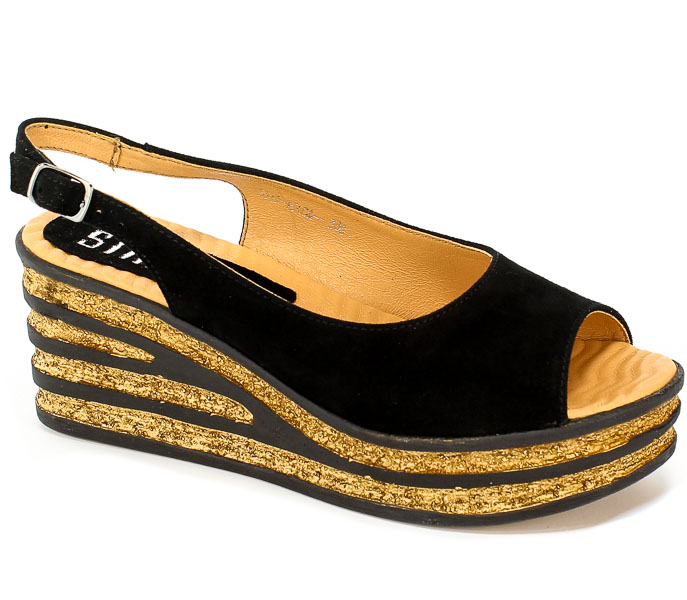Sandały Simen 1540A K.W.Nero