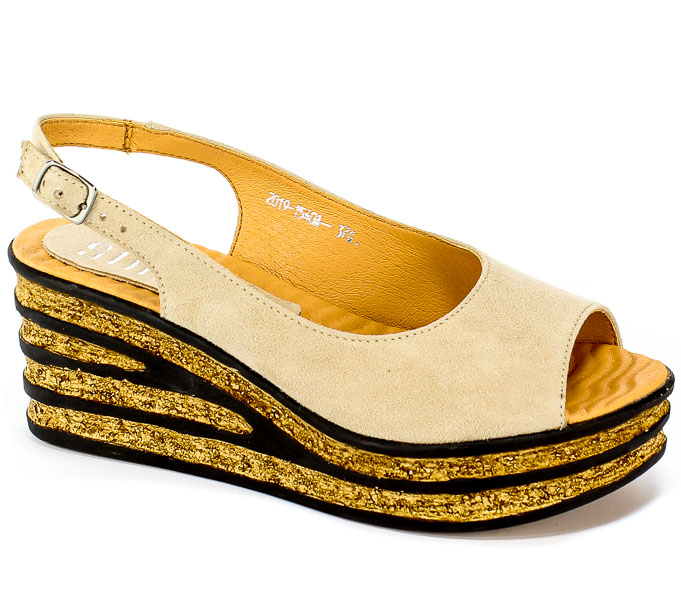 Sandały Simen 1540A K.W.Beż