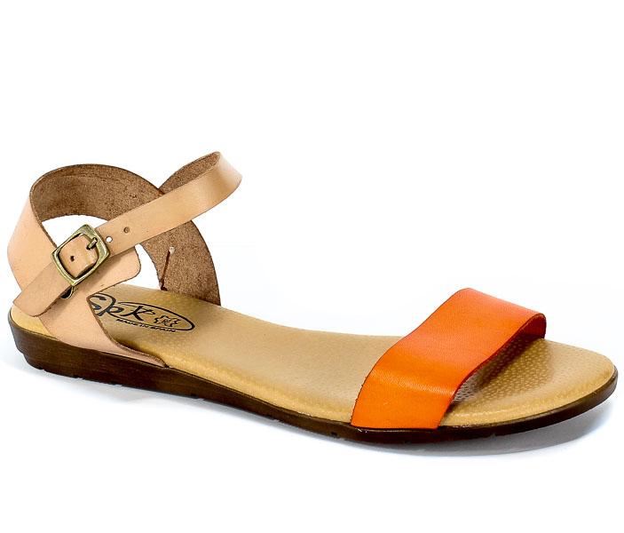 Sandały SPK Shoes 9240 Naranja/Nuez