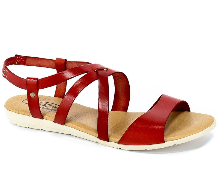 Sandały SPK Shoes 9248 Rojo