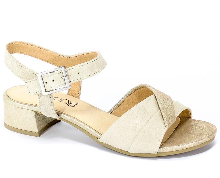 Sandały Caprice 9-28203-22 155 Cream Comb