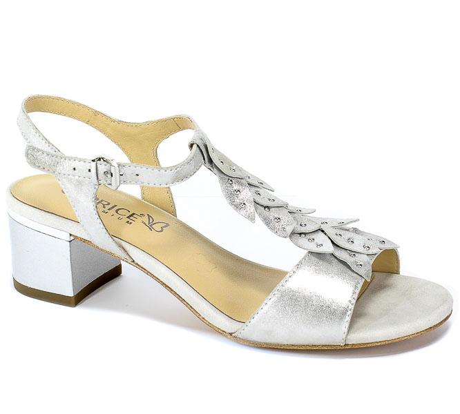 Sandały Caprice 9-28213-22 924 Silver Sue.Met