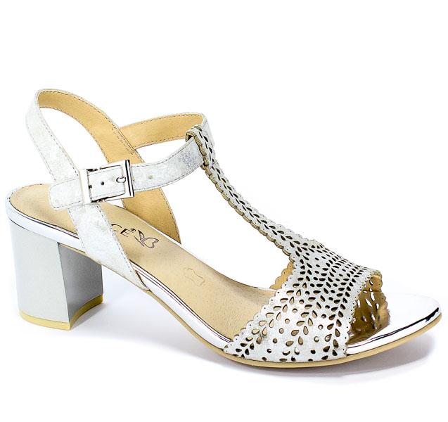 Sandały Caprice 9-28301-22 926 Silver Shin.Su