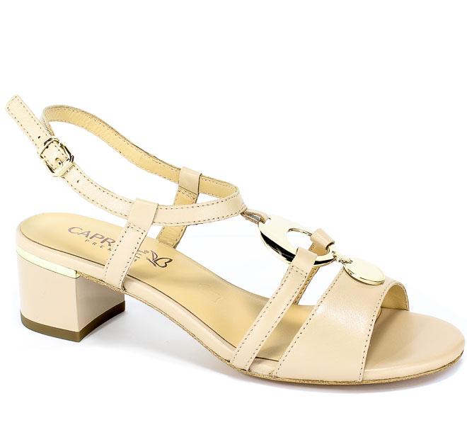 Sandały Caprice 9-28211-22 433 Beige Perlato