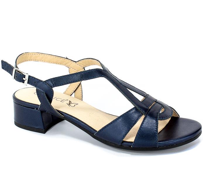 Sandały Caprice 9-28201-22 807 Navy Perlato