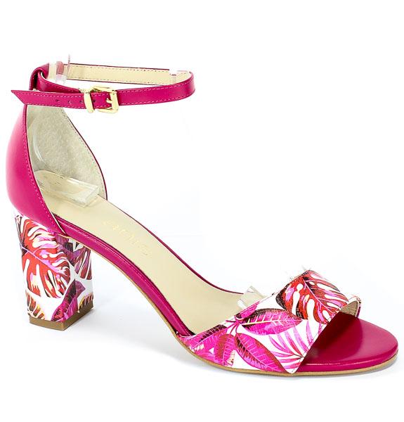 Sandały Anis 4708 Róż Palma/Fuksja