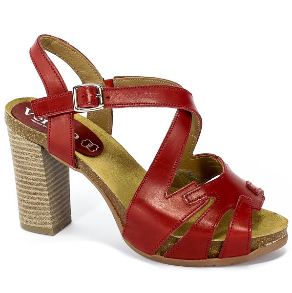 Sandały Verano 2851 Rojo