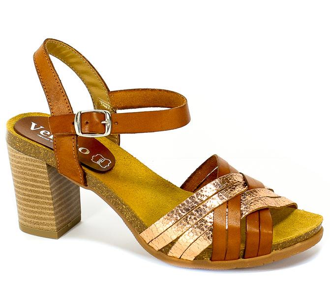 Sandały Verano 2966 Cuero Ad Bronce Old