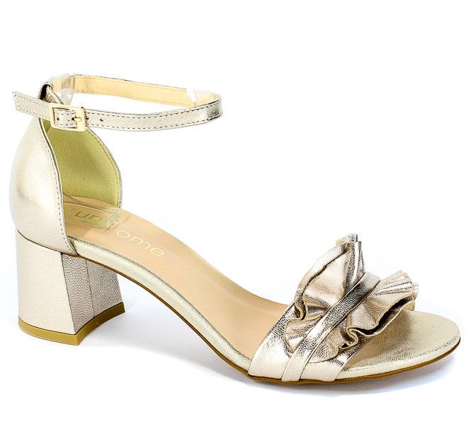 Sandały Uncome 28121 Platino