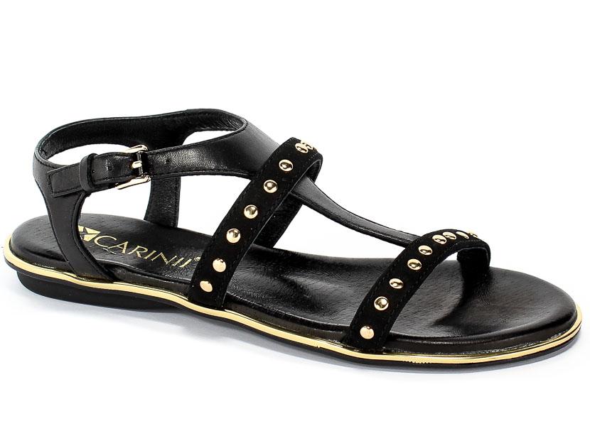 Sandały Carinii B4888-360-E50-000-971 Czarny