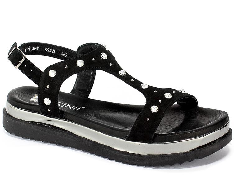 Sandały Carinii B4996-360-F99-000-986 Czarny