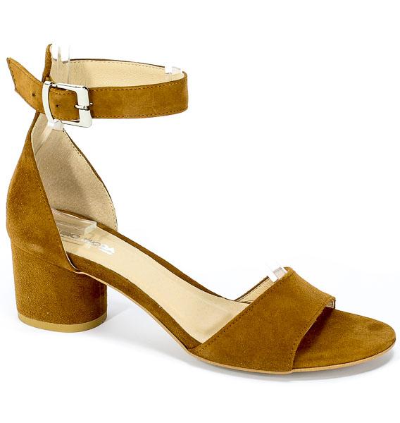 Sandały Euro Moda Ro 455 Rudy