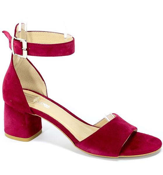 Sandały Euro Moda Ro 455 Burgund