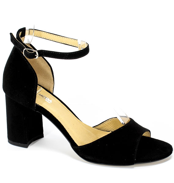 Sandały Euro Moda Ro 458 Czarny