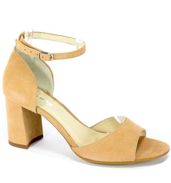 Sandały Euro Moda Ro 458 Beż