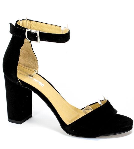 Sandały Euro Moda Ro 448 Czarny