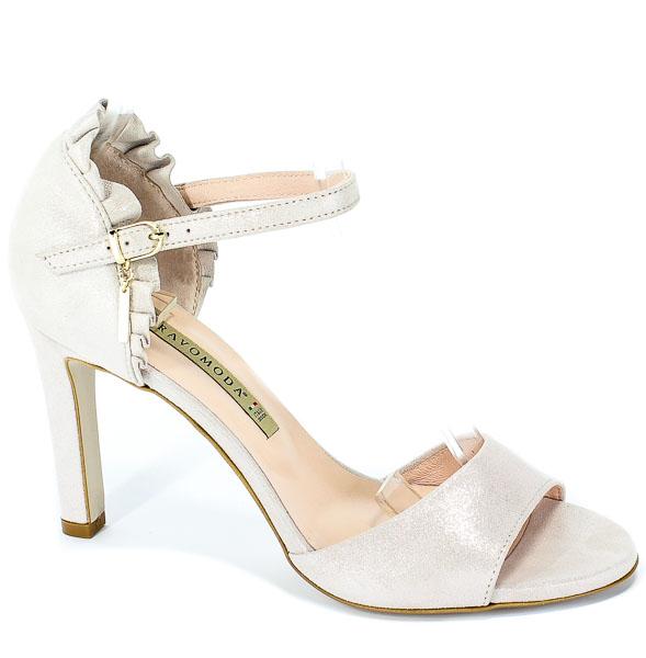 Sandały Bravo Moda 1699 Cipria Lamina