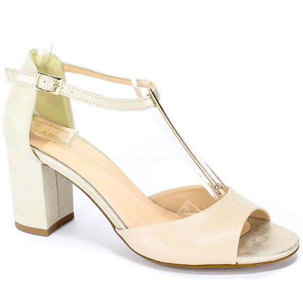 Sandały Uncome 24120 Beige/Gold