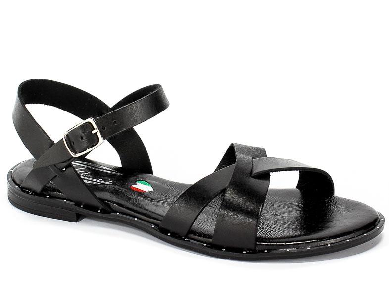 Sandały Blu... 4460 Czarny
