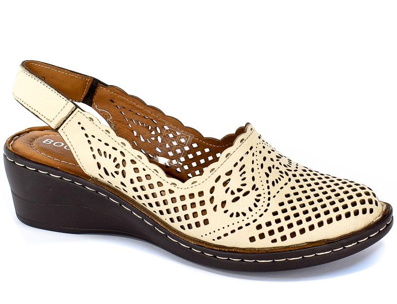 Sandały Boccato 5019 Bej