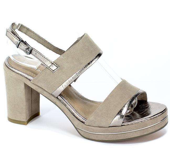 Sandały Marco Tozzi 2-28382-32 344 Taupe Comb