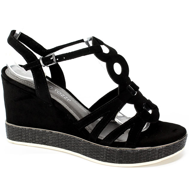 Sandały Marco Tozzi 2-28377-32 001 Black