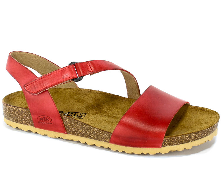 Sandały Nik 07-0359-01-7-12-03 Czerwony