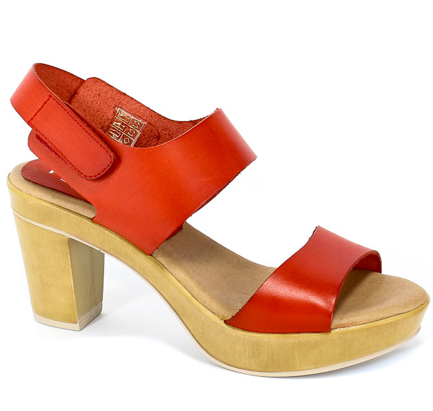 Sandały Pilar Monet 24141 Rojo