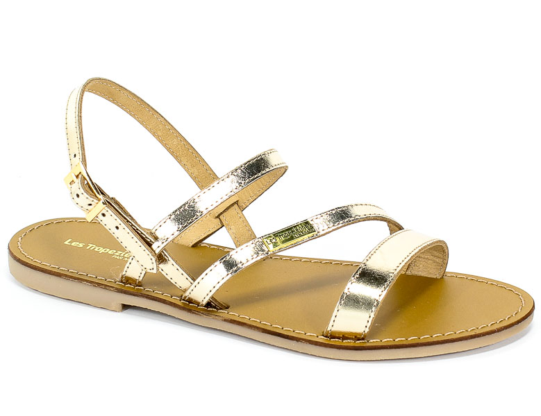 Sandały Les Tropeziennes 12884 Gold
